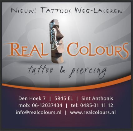Real Colours Tattoo & Piercing - Foto's
