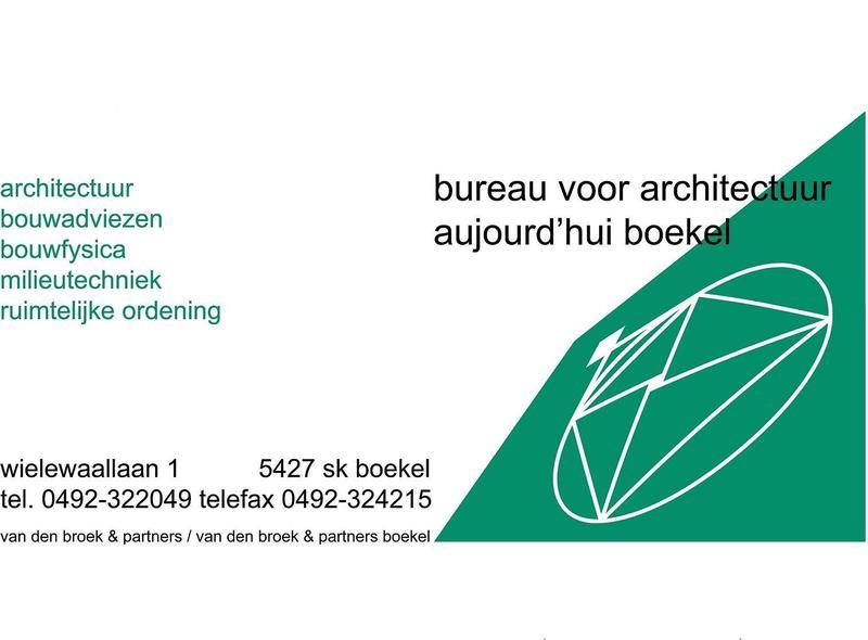 bureau voor architectuur Aujourdhui boekel - Foto's