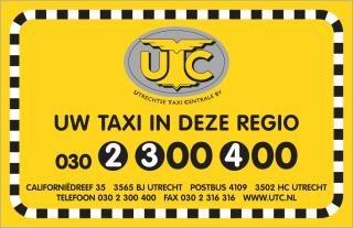 UTC Utrechtse Taxicentrale BV - Foto's