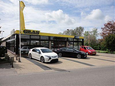 Glas Autobedrijf Opel - Foto's