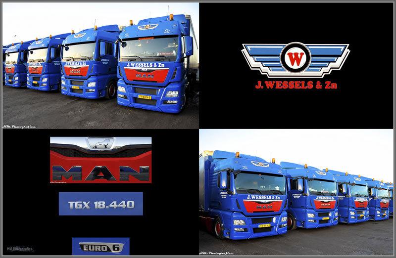 Wessels & Zn Transportbedrijf BV J - Foto's