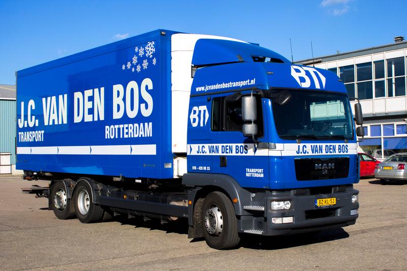 Bos Transport BV J C van den - Foto's
