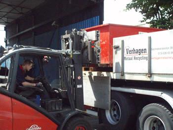 Verhagen Metaalrecycling - Foto's