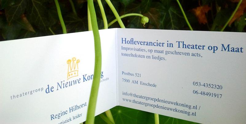 Theatergroep De Nieuwe Koning - Foto's