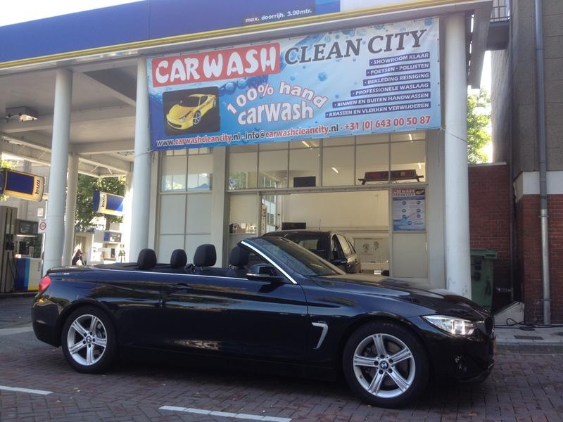 Carwash Clean City - Foto's
