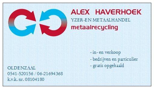 Alex Haverhoek Ijzer-en Metaalhandel / recycling - Foto's