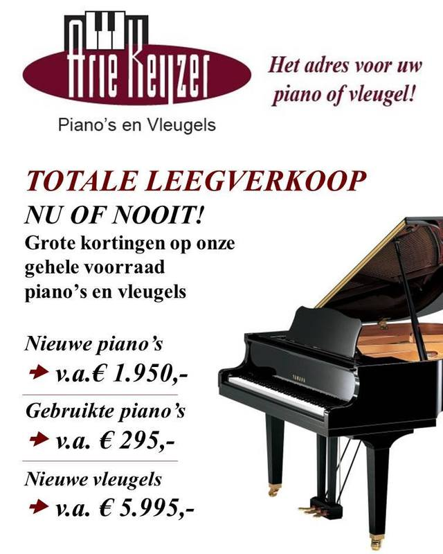 Keijzer Piano's-Vleugels Arie - Foto's