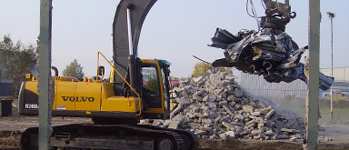 Mandemakers Aann bedr v straat-grond-sloopw Verh containers - Foto's