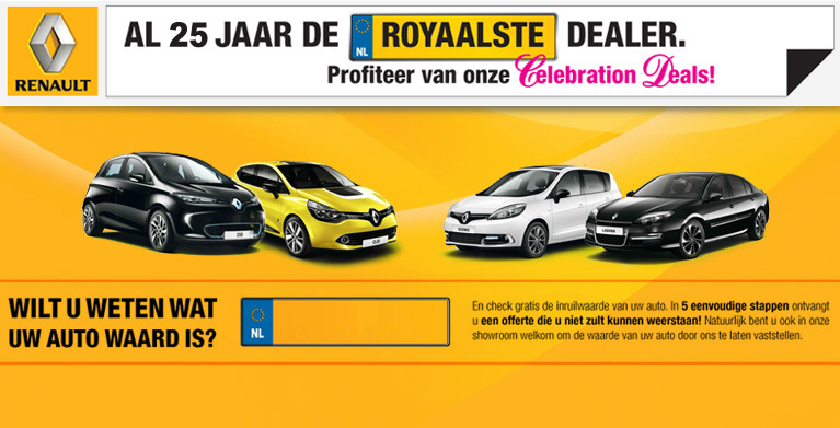 Renault Dealer Segerink & Wolbers - Foto's