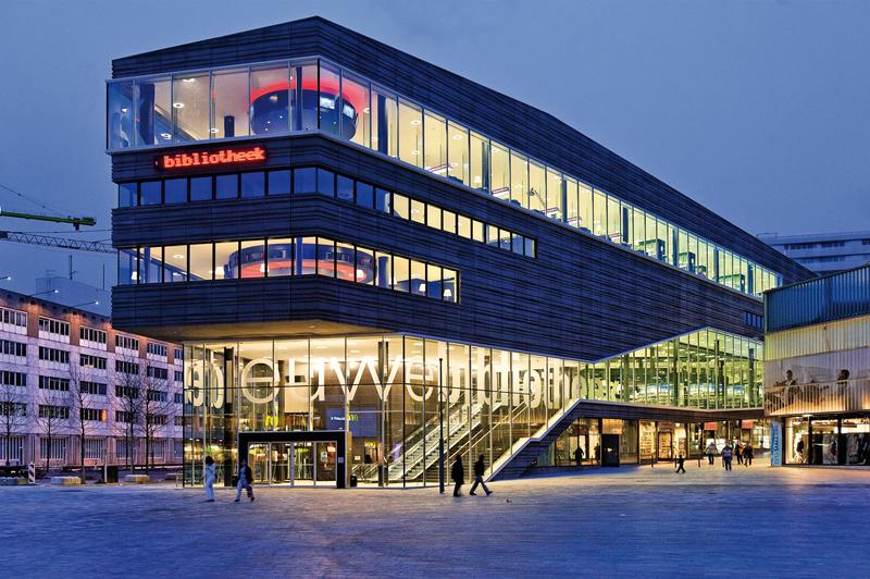 Openbare Bibliotheek Almere Stad Buiten Haven en Poort - Foto's