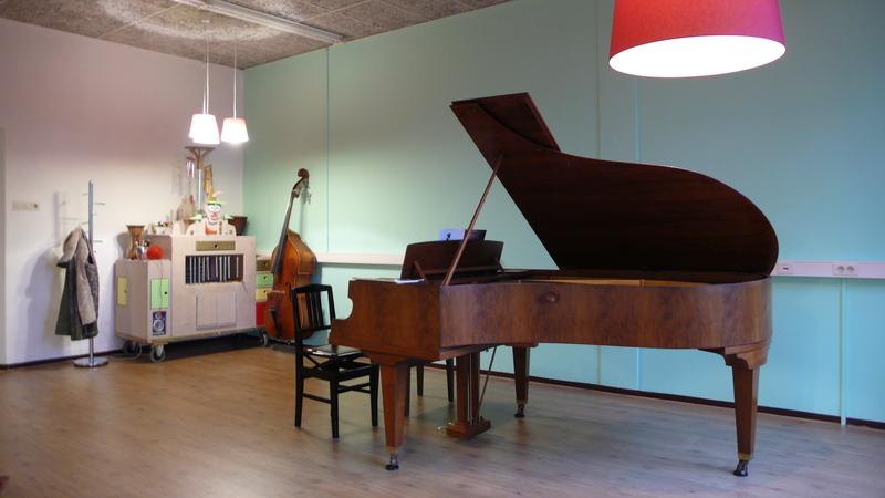 Muziekstudiomerel Pianoles - Foto's