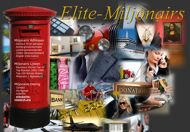 Elite Group Miljonairsadressen - Foto's