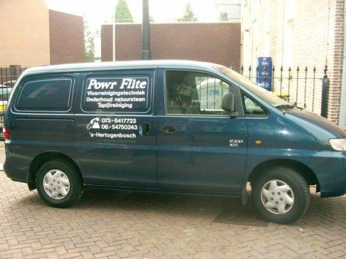 POWR Flite Vloerreinigingstechniek - Foto's