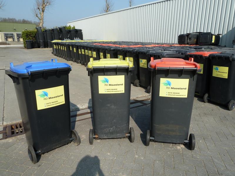 Reinigingsdienst Maasland - Foto's