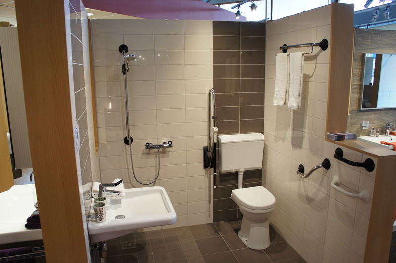 Rongen Tegels Sanitair Tegelwerken Showroom - Foto's