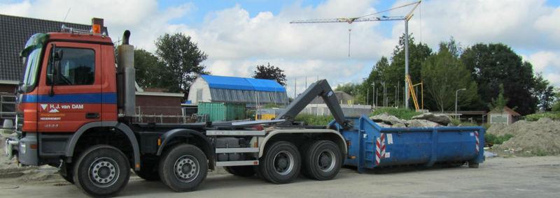 Bouwgrondstoffen en Containerverhuur Van Dam - Foto's