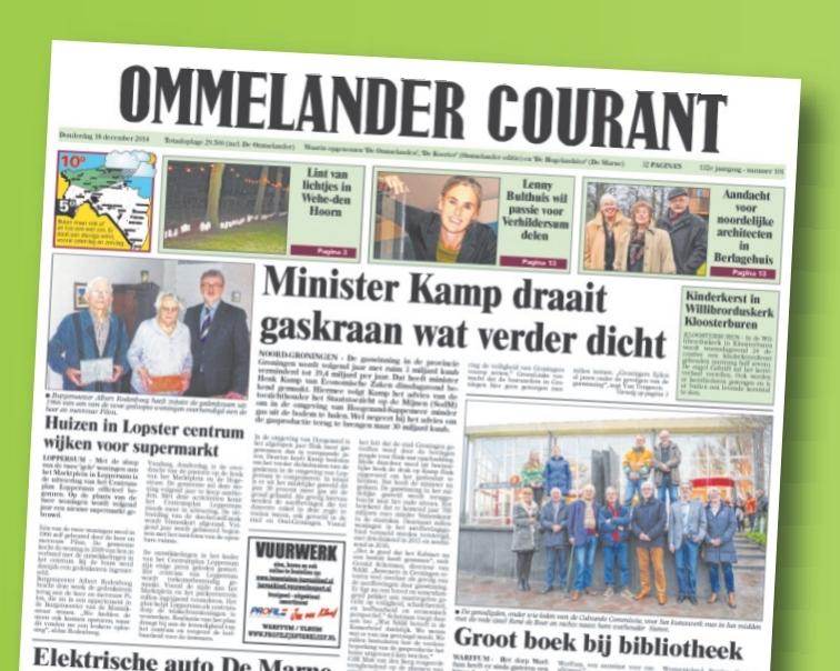 Ommelander Courant - Foto's