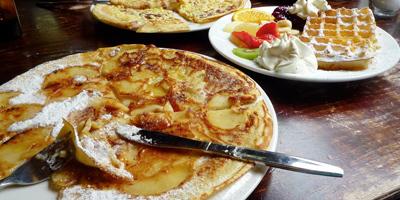 Pannekoekenbakker Restaurant De - Foto's