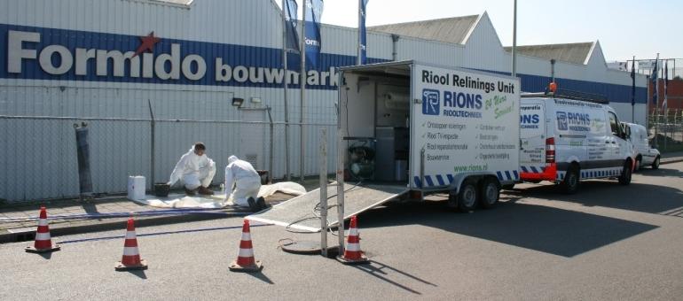 Rions Riooltechniek Ontstoppingsdienst - Foto's