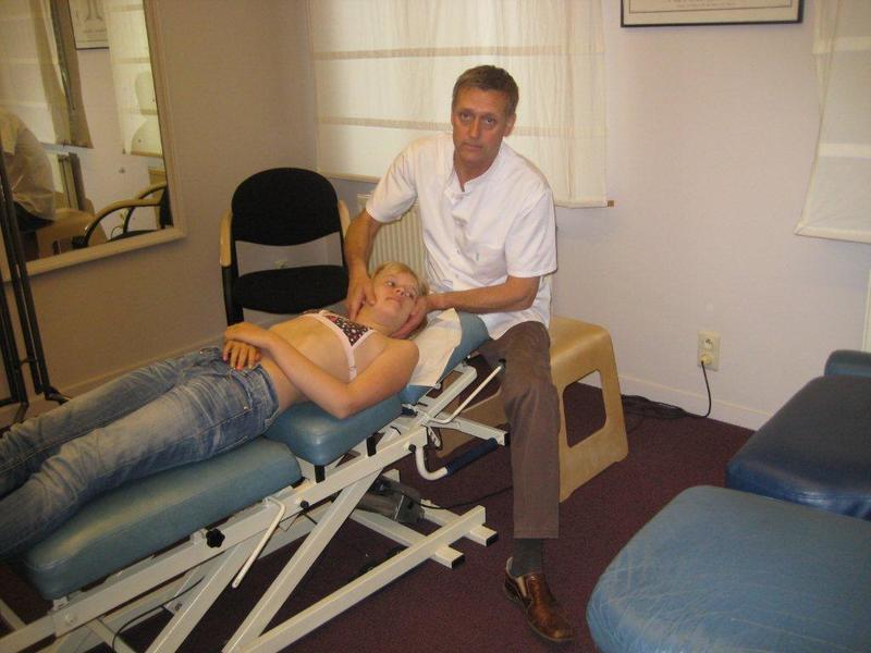 Chiropractor raf peirelinck