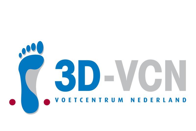 3d vcn logo background