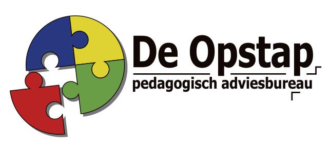 Logo de opstap lettercontouren cmyk
