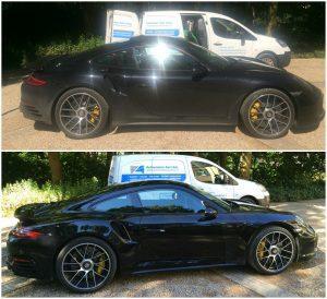 Porsche gepoetst 300x274
