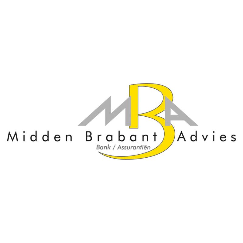 Logo midden brabant advies vierkant wit